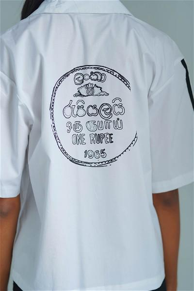 Coin Collector Resort Shirt ( white )