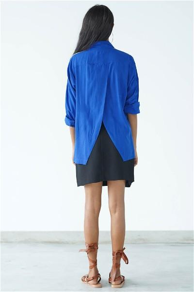 Ceylon Travel Shirt ( Blue)