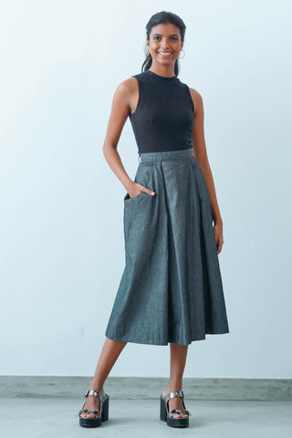 Insanely cool wrap skirt