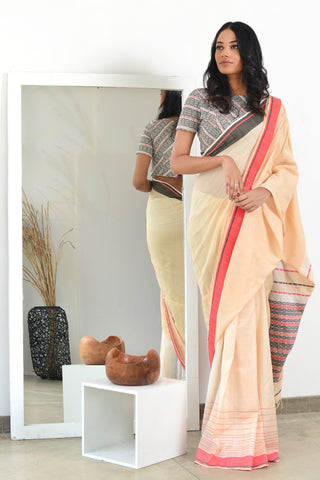 Urban Drape Mediterranean Waters Saree