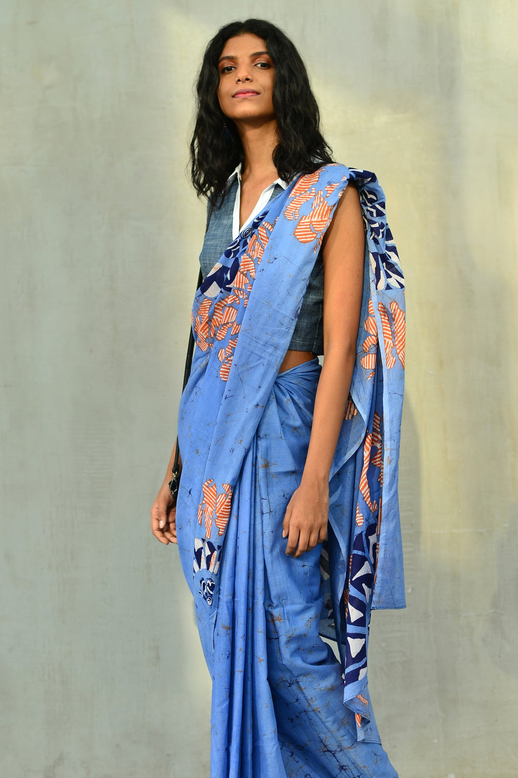 Urban Drape Floral fantasy 1 Saree - Fashion Market.LK