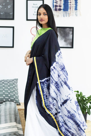 Urban Drape Coloured Pebbles Saree