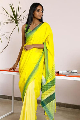 Urban Drape Golden Glow Saree