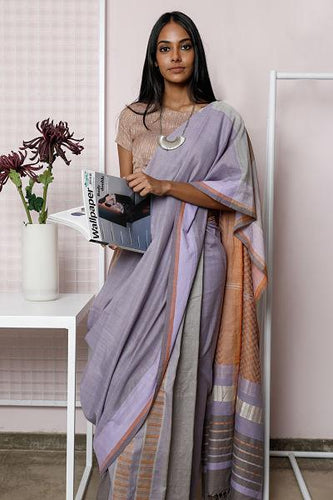 Urban Drape Mist Saree