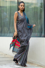 Load image into Gallery viewer, Urban Drape Color Crush Saree