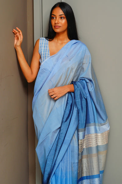 Urban Drape Rime Forest Saree