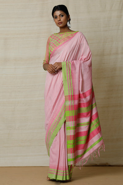 Urban Drape Summer Bright  Saree