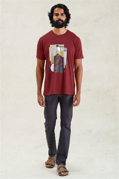 Abstract Landscapes Relaxed  T-Shirt