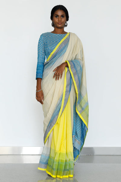 Urban Drape Ice Crystal Saree