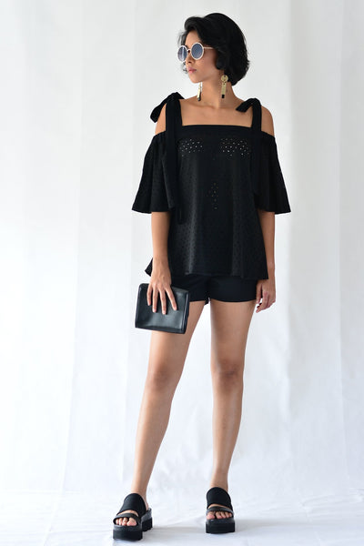Peppy Off-Shoulder Top