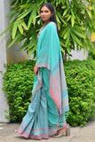 Urban Drape Mint Berry Saree