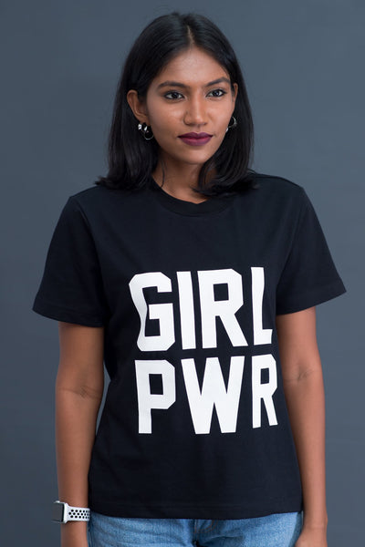 Girl Power black T-shirt