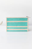 Pastel Mint Hemp Pencil Case -  Immediate Shipping -Order Now