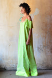 Neon Strap Maxi Dress-Immediate Shipping - Order Now