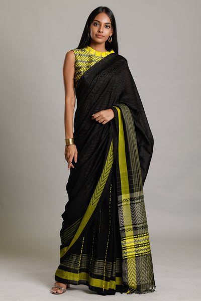 Urban Drape Mist Ray Shadow Saree
