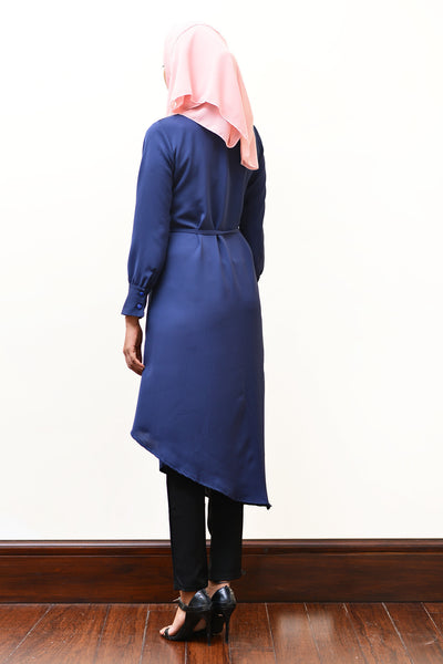 Asymmetric Abaya - Immediate Shipping - Order Now