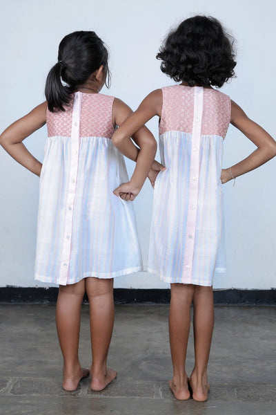 Hand woven  party dress