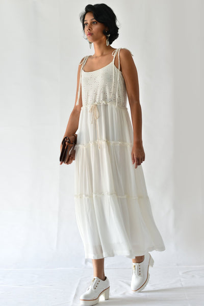 Seraphic Midi Tier Dress