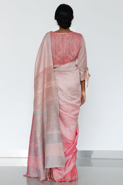 Urban Drape French Rose Saree