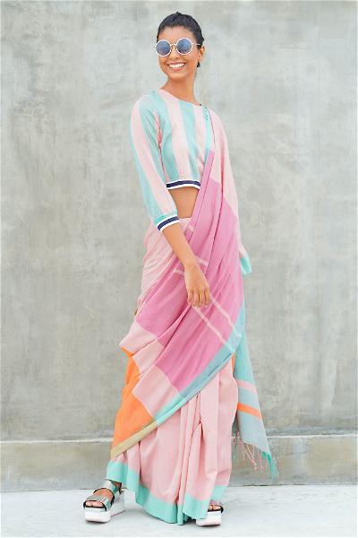 Urban Drape Candy Coated Saree