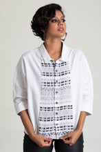 Load image into Gallery viewer, Dolman Sleeve Handloom Panelled Top