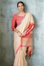 Load image into Gallery viewer, Urban Drape Kashmir Iris Hand Woven Saree