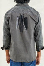 Load image into Gallery viewer, Foil Camouflage ZIP-UP Long Sleeves Shirt
