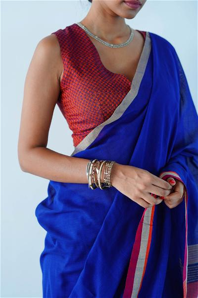 Urban Drape Barberries Drape Hand Woven Saree