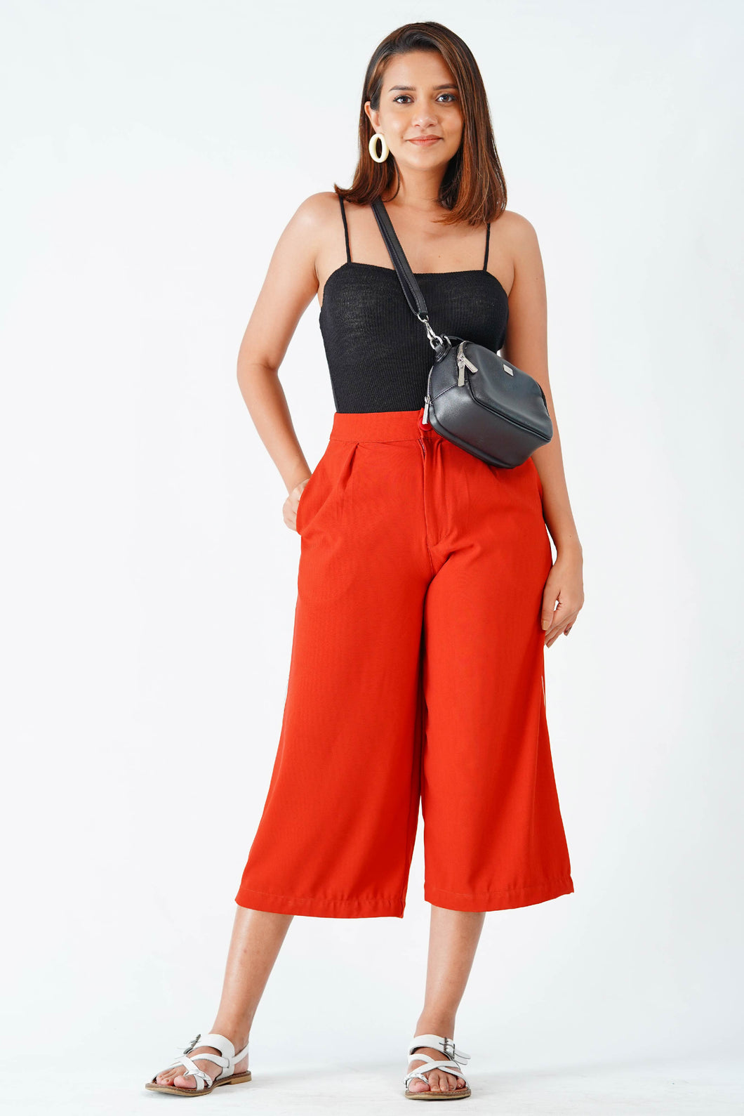 Cherry fruitify crop pant