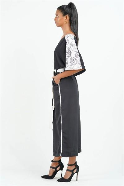 Serendib Coin Sleeve Jumpsuit