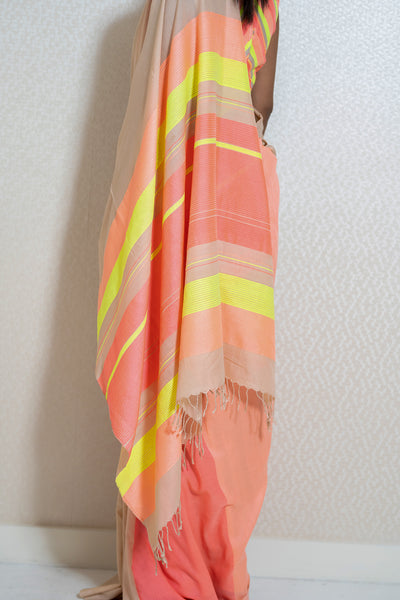 Urban Drape Neon Rush Saree