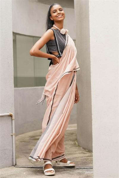 Urban Drape Ultra Sporty Chic Saree
