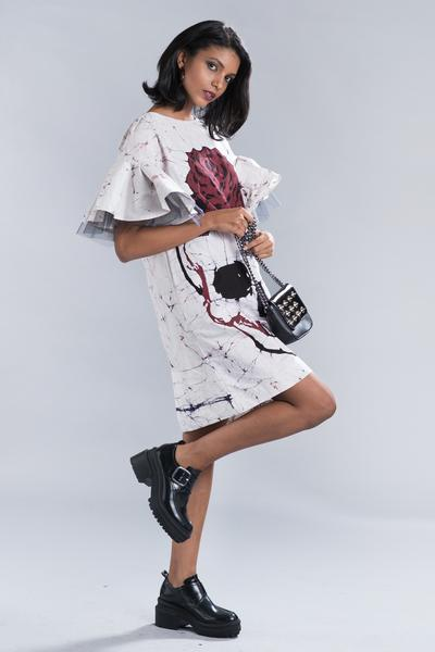 Batik Punk Shift Dress