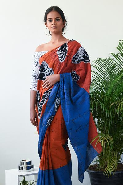Urban Drape Rubi Saree