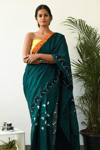 Urban Drape Butterfly Shadows Saree