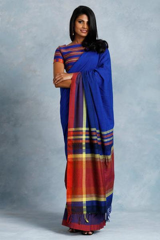 Urban Drape Colorful Escape Saree