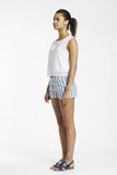 Nautical stripe beach short