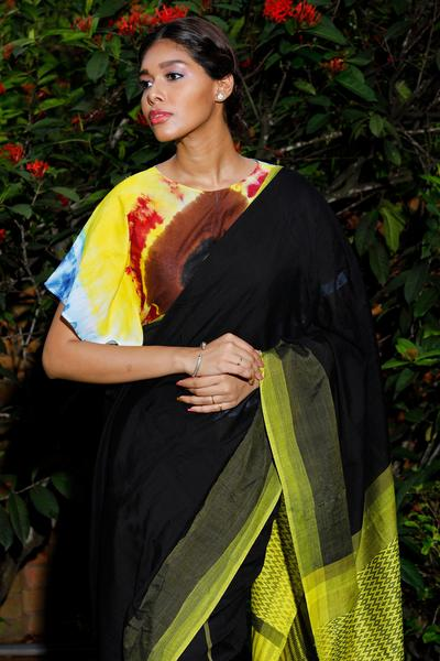 Urban Drape Glazed Core Saree