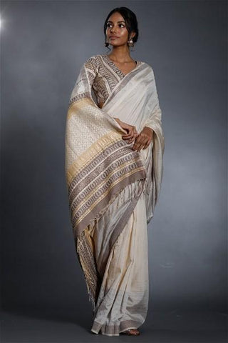 Urban Drape Lux Milky Way Saree