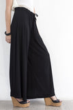 Wide leg Trousers- Black