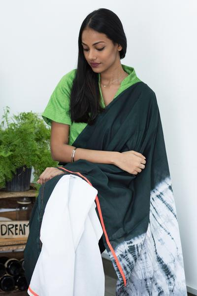 Urban Drape Moss Path Saree - Fashion Market.LK