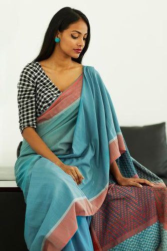 Urban Drape Muhudu Rekha Saree - Fashion Market.LK