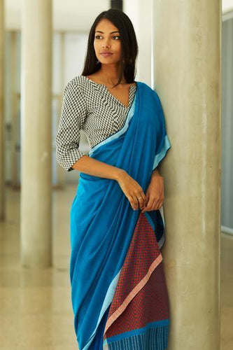 Urban Drape Neela Rekha Saree - Fashion Market.LK
