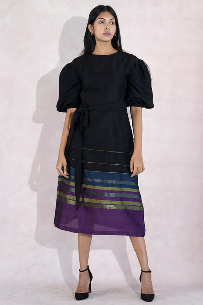 Handloom Festive Midi Dress
