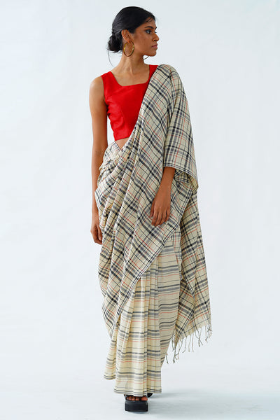 Urban Drape Smoke on the Water saree
