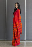 Urban Drape Flame Saree