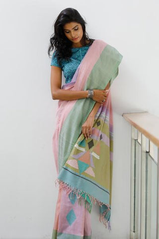 Urban Drape Track Star Saree