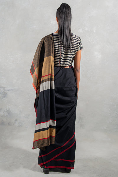 Urban Drape Harvard Star Saree