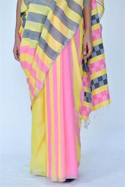 Urban Drabe Strong Stripes Saree