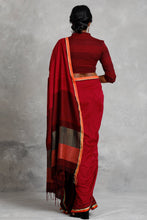 Load image into Gallery viewer, Urban Drape  Scarlet Rays Saree